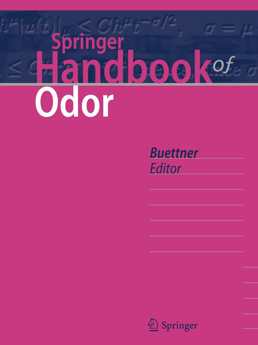 Buettner, Andrea - Springer Handbook of Odor, ebook
