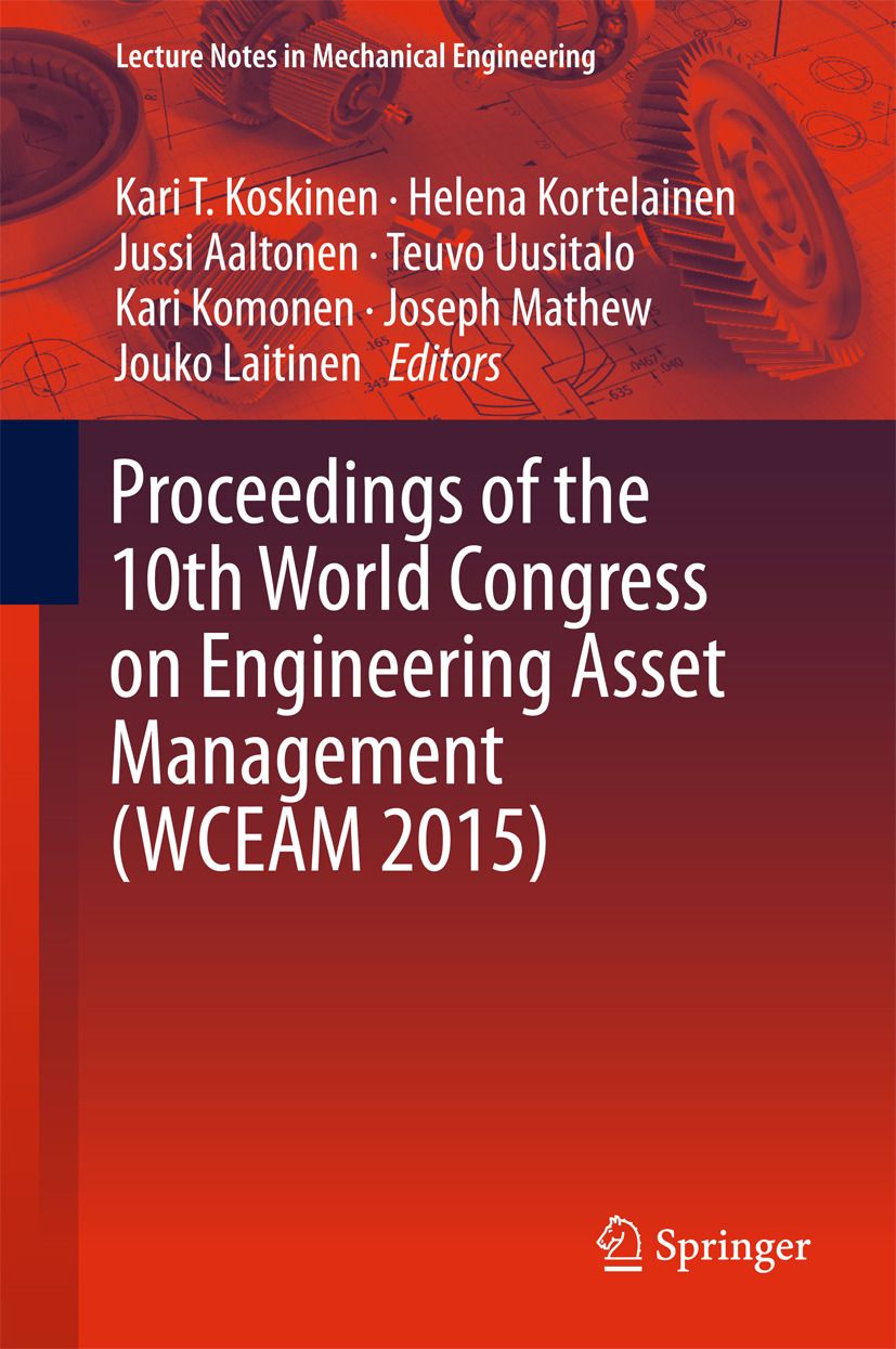 Aaltonen, Jussi - Proceedings of the 10th World Congress on Engineering Asset Management (WCEAM 2015), ebook