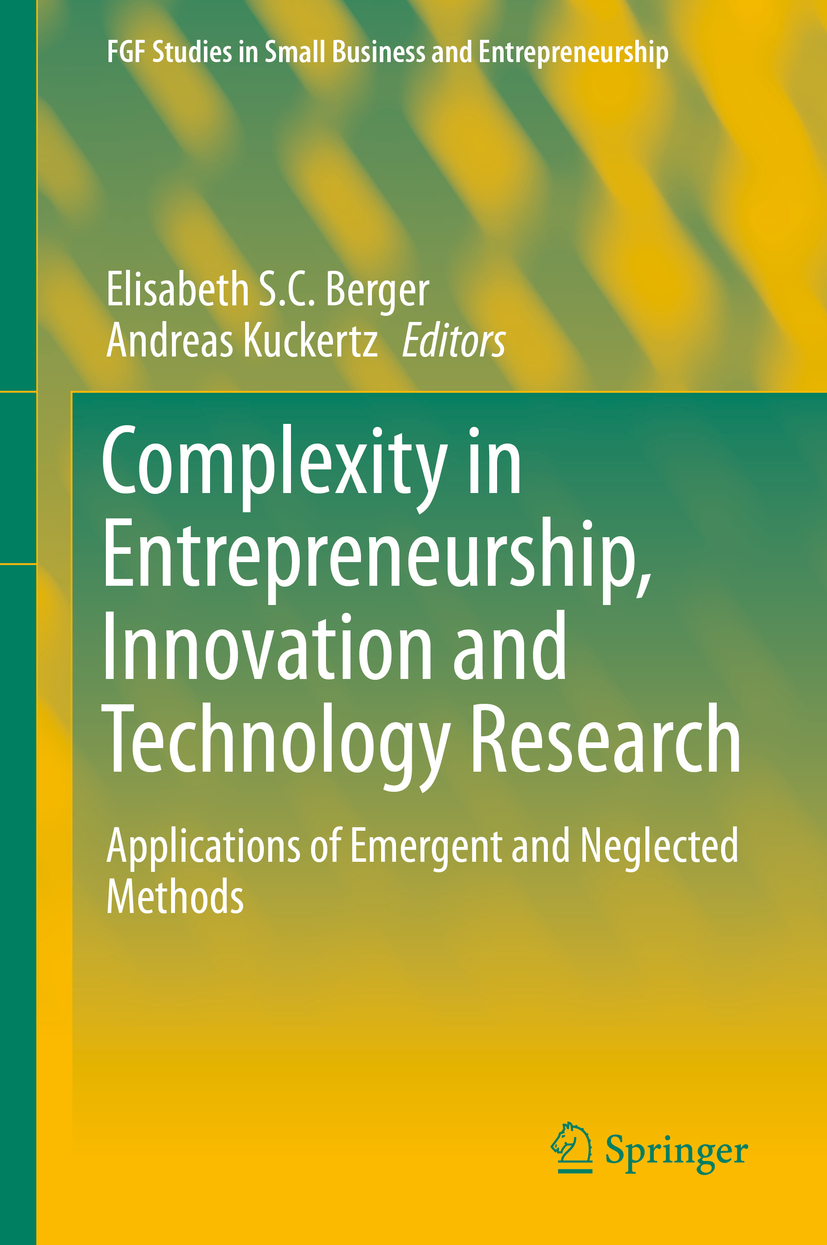 Berger, Elisabeth S.C. - Complexity in Entrepreneurship, Innovation and Technology Research, ebook