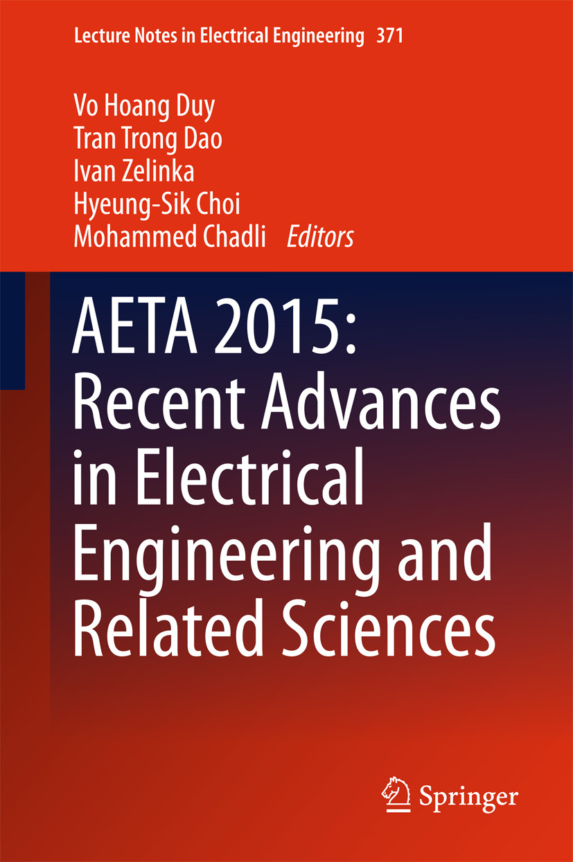 Chadli, Mohammed - AETA 2015: Recent Advances in Electrical Engineering and Related Sciences, ebook