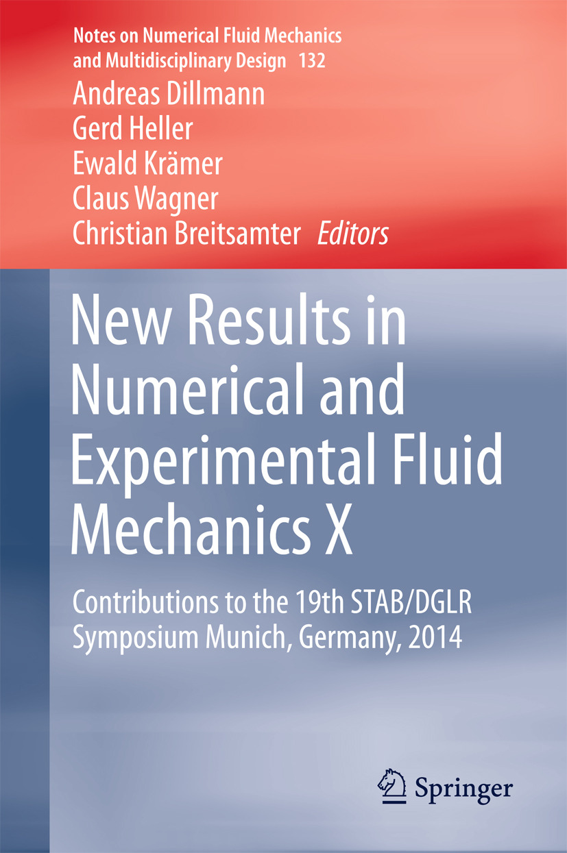 Breitsamter, Christian - New Results in Numerical and Experimental Fluid Mechanics X, ebook