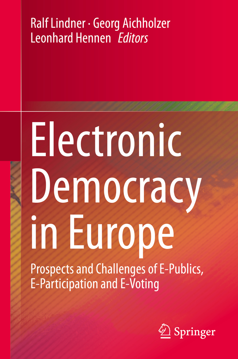 Aichholzer, Georg - Electronic Democracy in Europe, ebook