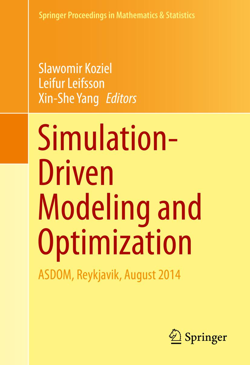 Koziel, Slawomir - Simulation-Driven Modeling and Optimization, ebook