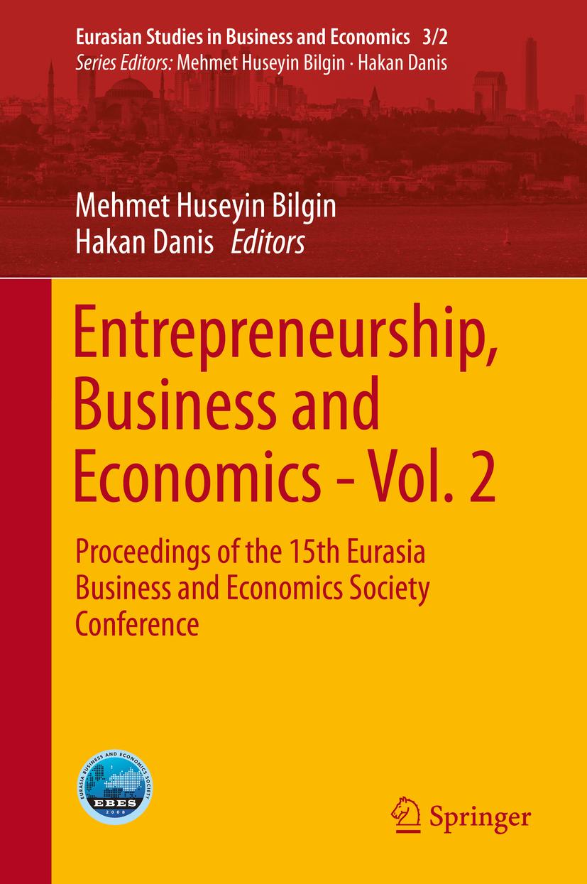 Bilgin, Mehmet Huseyin - Entrepreneurship, Business and Economics - Vol. 2, e-bok