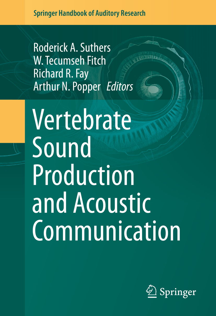 Fay, Richard R. - Vertebrate Sound Production and Acoustic Communication, ebook