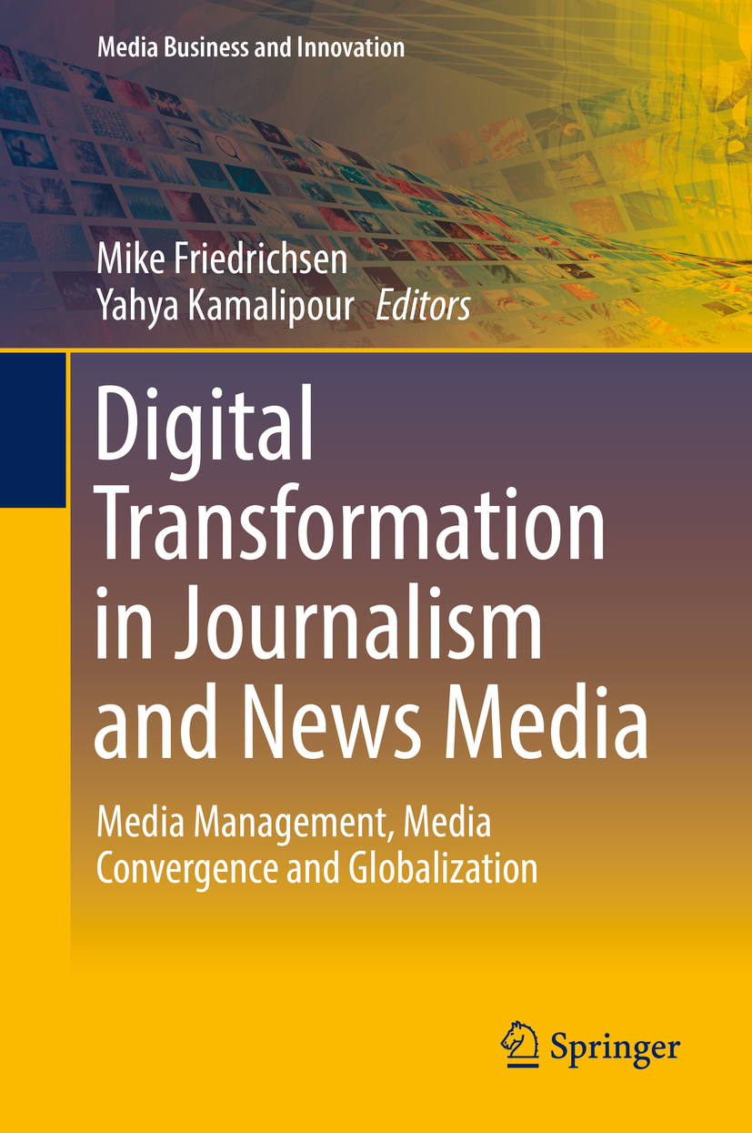 Friedrichsen, Mike - Digital Transformation in Journalism and News Media, e-bok