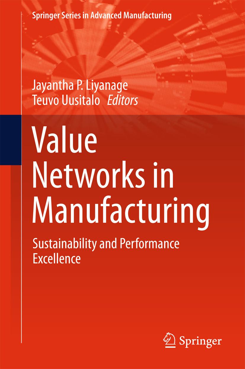 Liyanage, Jayantha P - Value Networks in Manufacturing, ebook