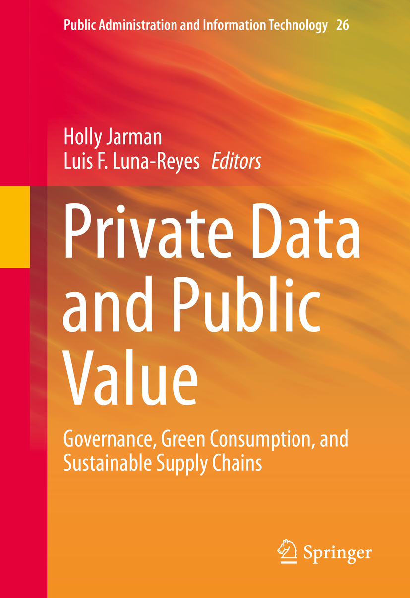 Jarman, Holly - Private Data and Public Value, ebook