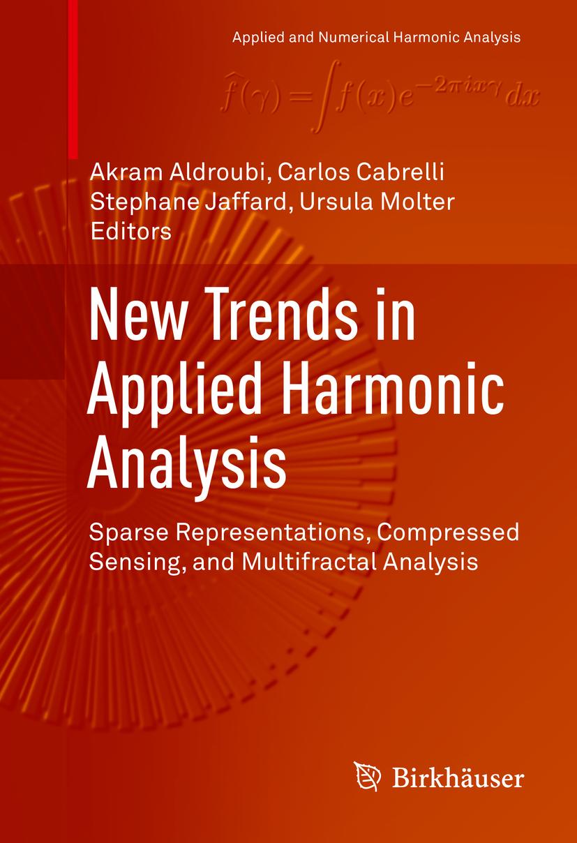 Aldroubi, Akram - New Trends in Applied Harmonic Analysis, e-bok