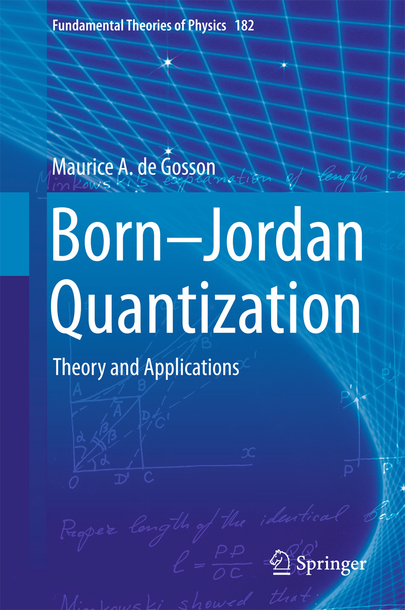 Gosson, Maurice A. de - Born-Jordan Quantization, ebook
