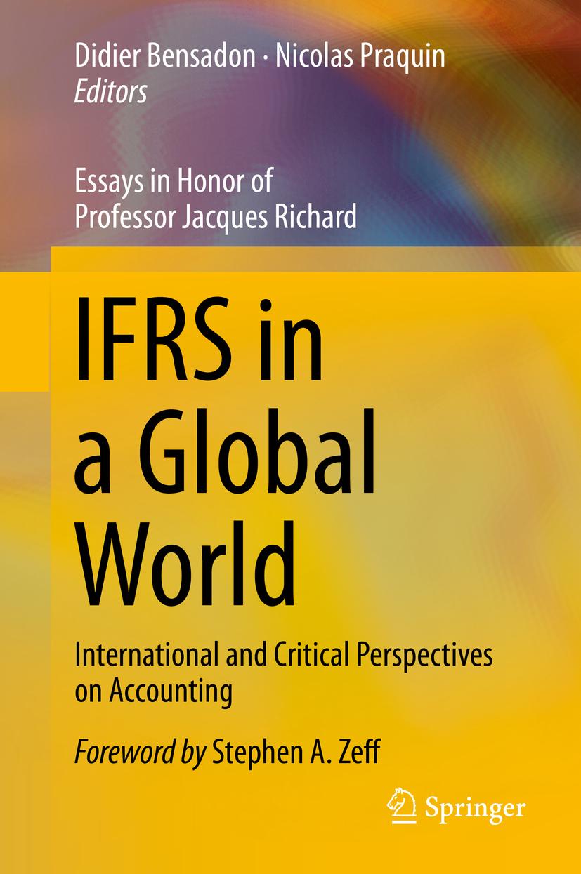 Bensadon, Didier - IFRS in a Global World, ebook