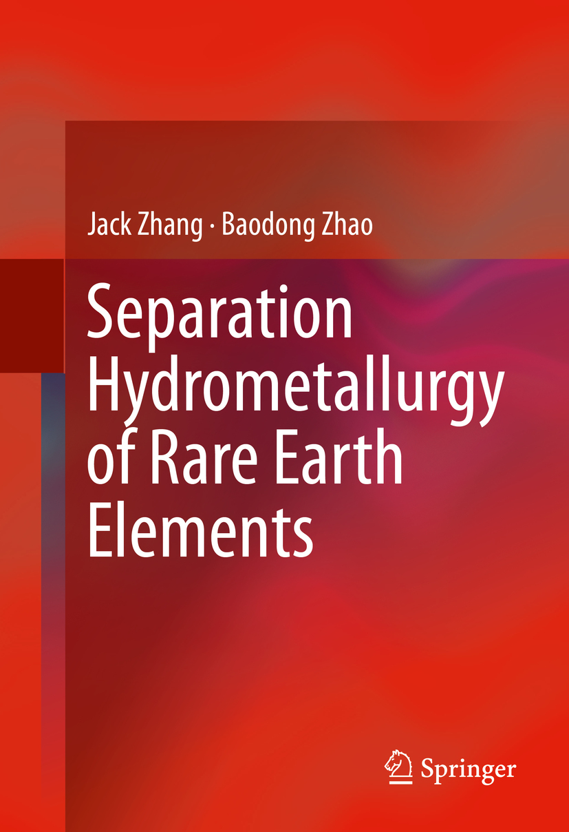 Schreiner, Bryan - Separation Hydrometallurgy of Rare Earth Elements, ebook