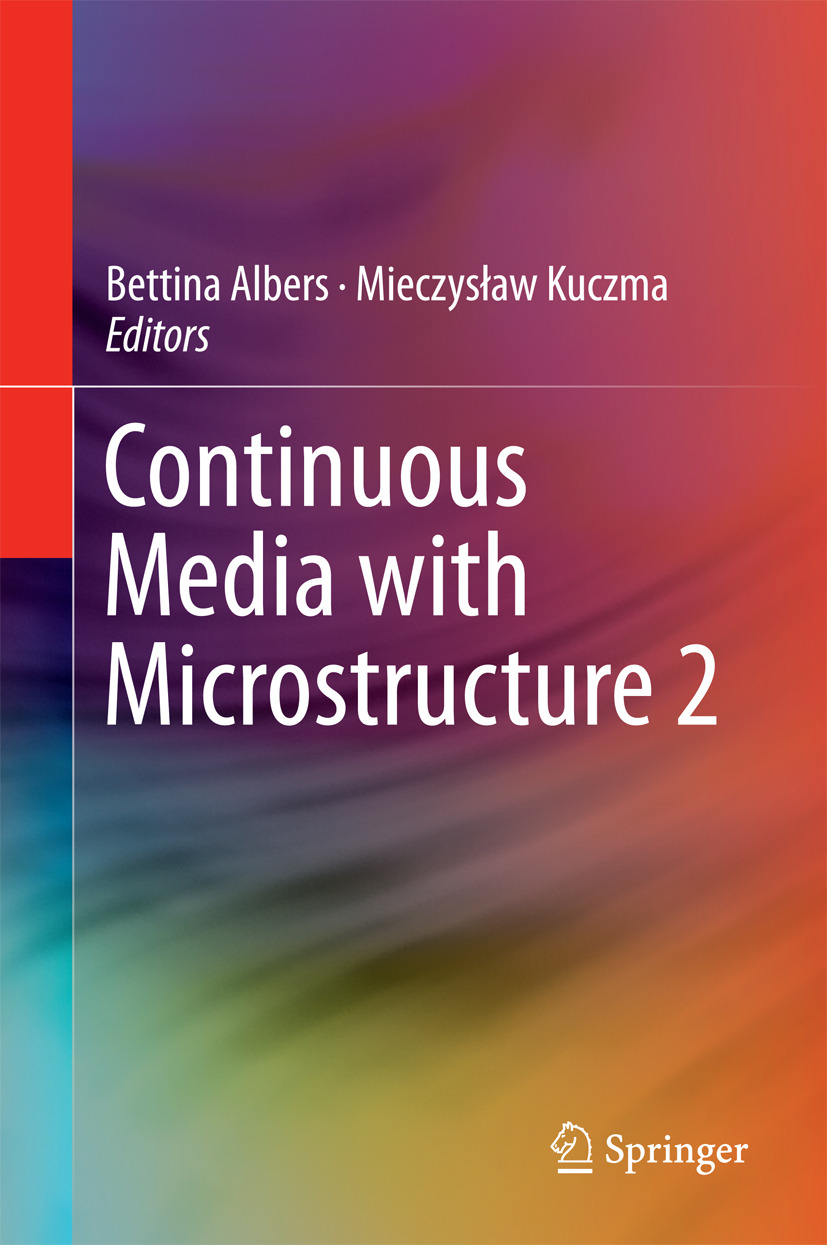 Albers, Bettina - Continuous Media with Microstructure 2, ebook