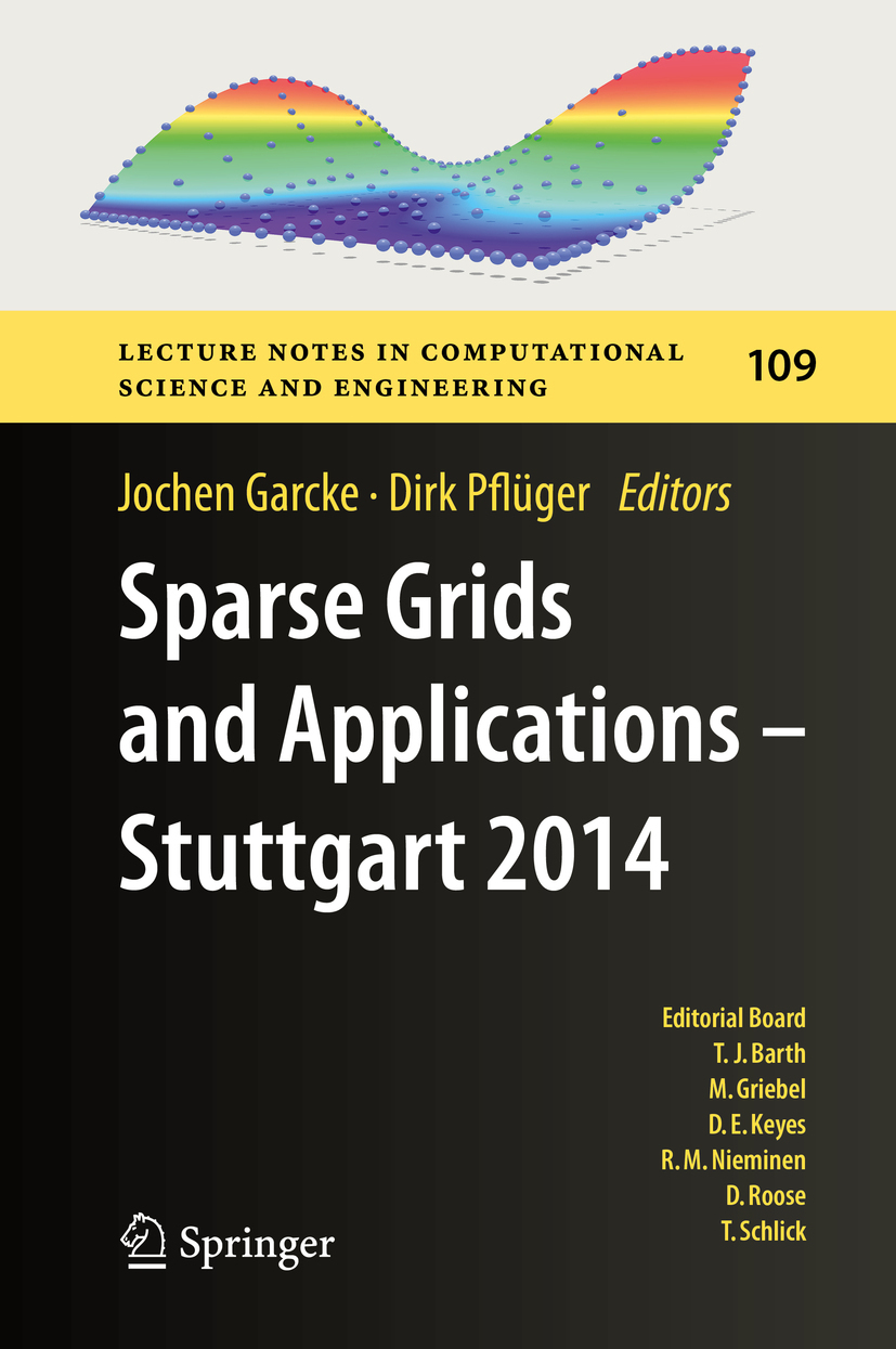 Garcke, Jochen - Sparse Grids and Applications - Stuttgart 2014, ebook