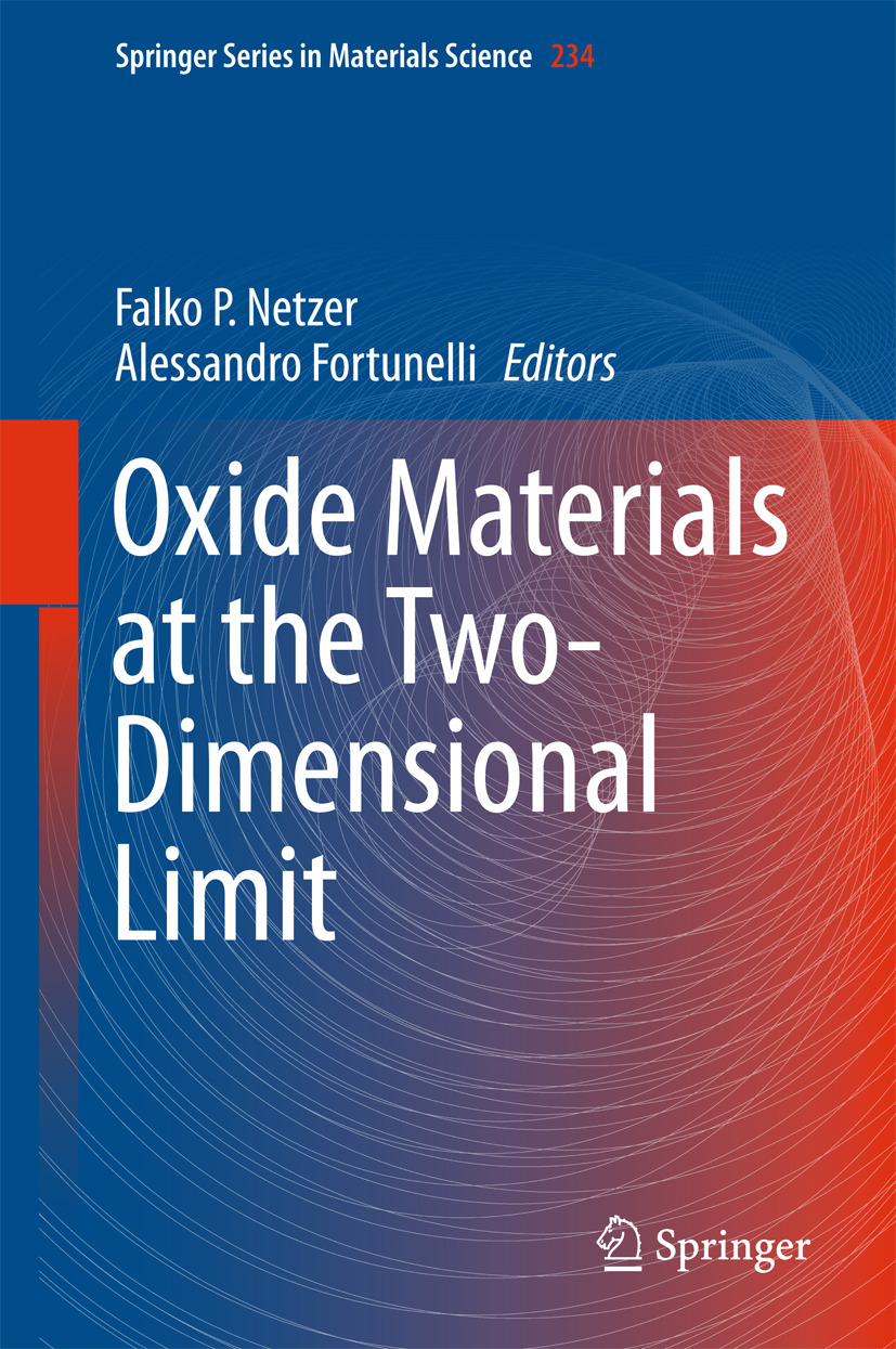 Fortunelli, Alessandro - Oxide Materials at the Two-Dimensional Limit, ebook