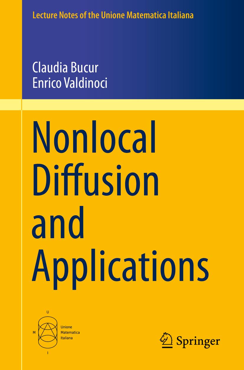 Bucur, Claudia - Nonlocal Diffusion and Applications, ebook