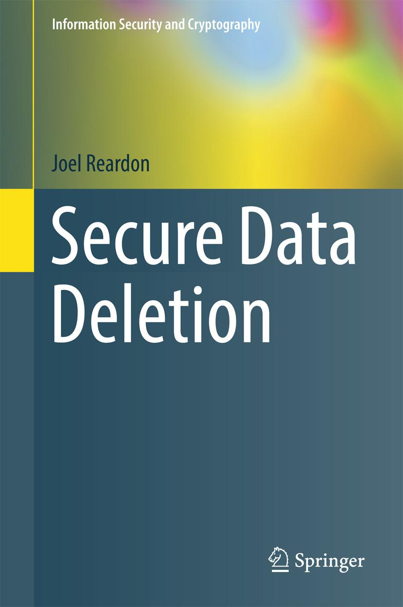 Reardon, Joel - Secure Data Deletion, ebook