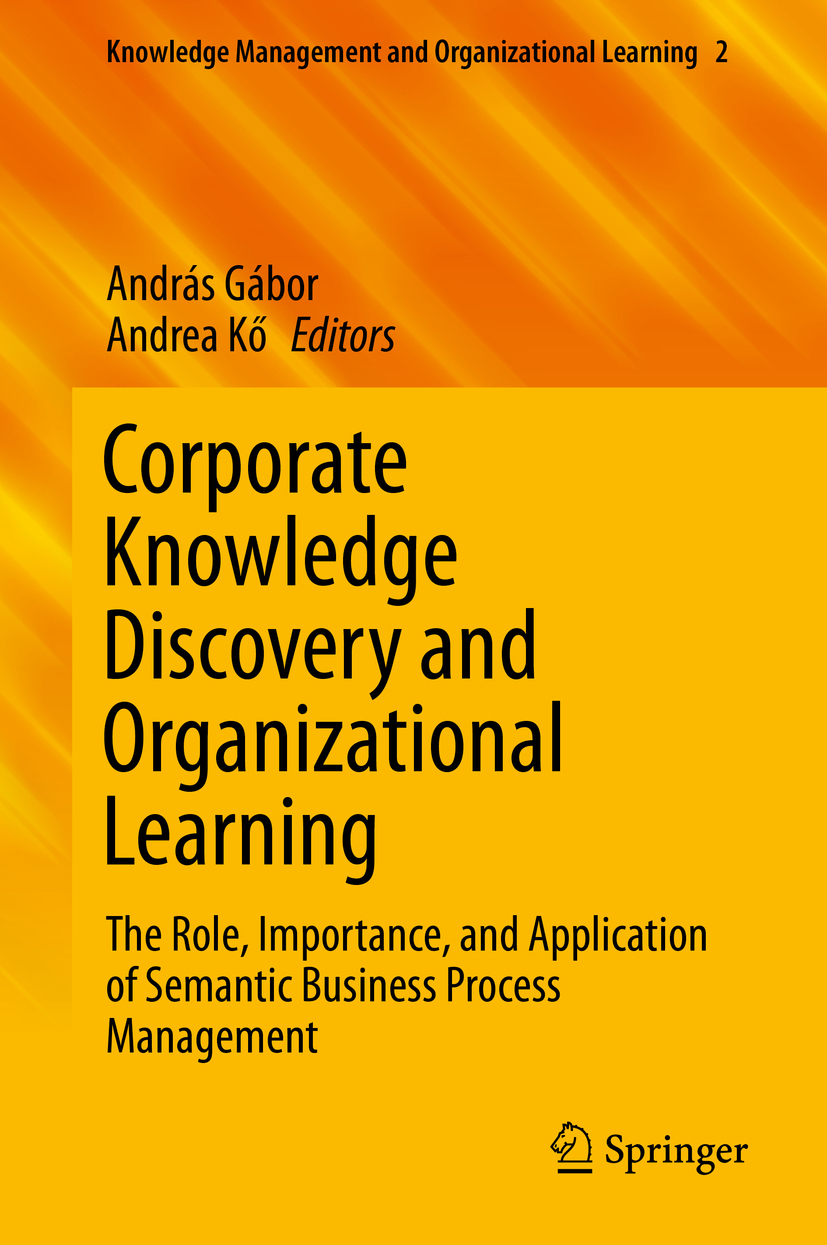 Gábor, András - Corporate Knowledge Discovery and Organizational Learning, ebook