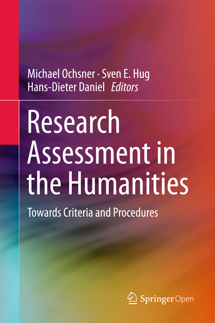 Daniel, Hans-Dieter - Research Assessment in the Humanities, ebook