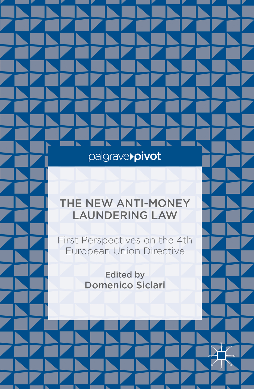 Siclari, Domenico - The New Anti-Money Laundering Law, ebook