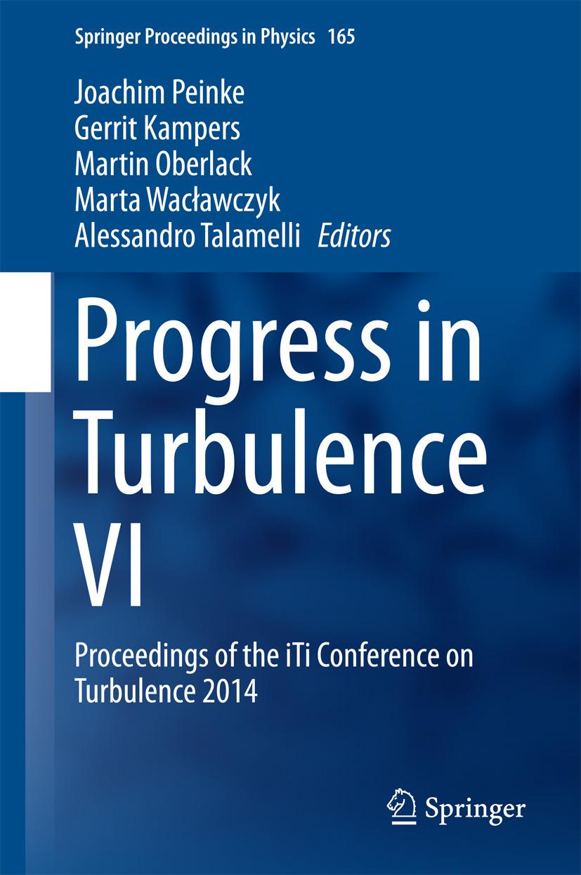 Kampers, Gerrit - Progress in Turbulence VI, ebook