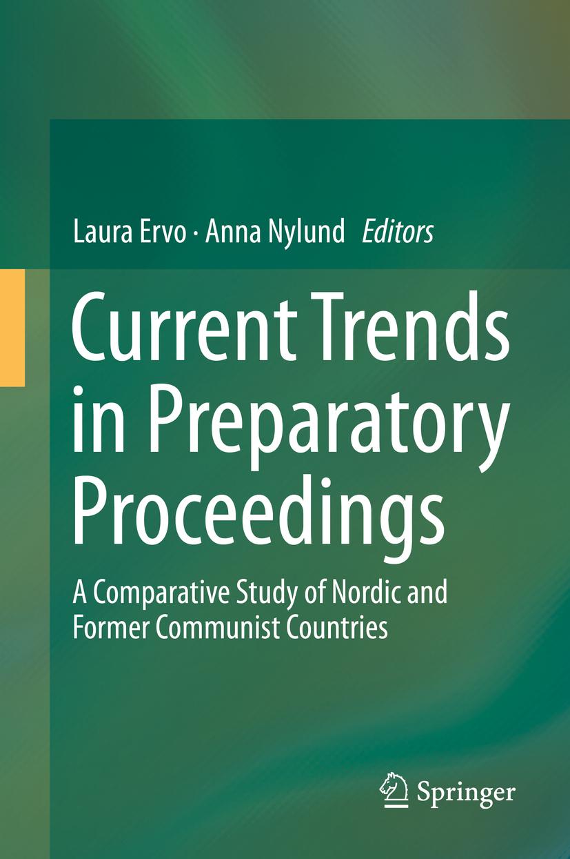 Ervo, Laura - Current Trends in Preparatory Proceedings, ebook