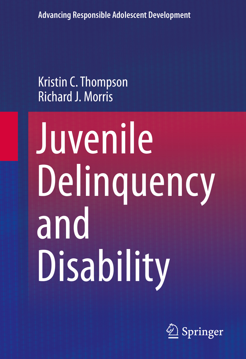 Morris, Richard J. - Juvenile Delinquency and Disability, ebook