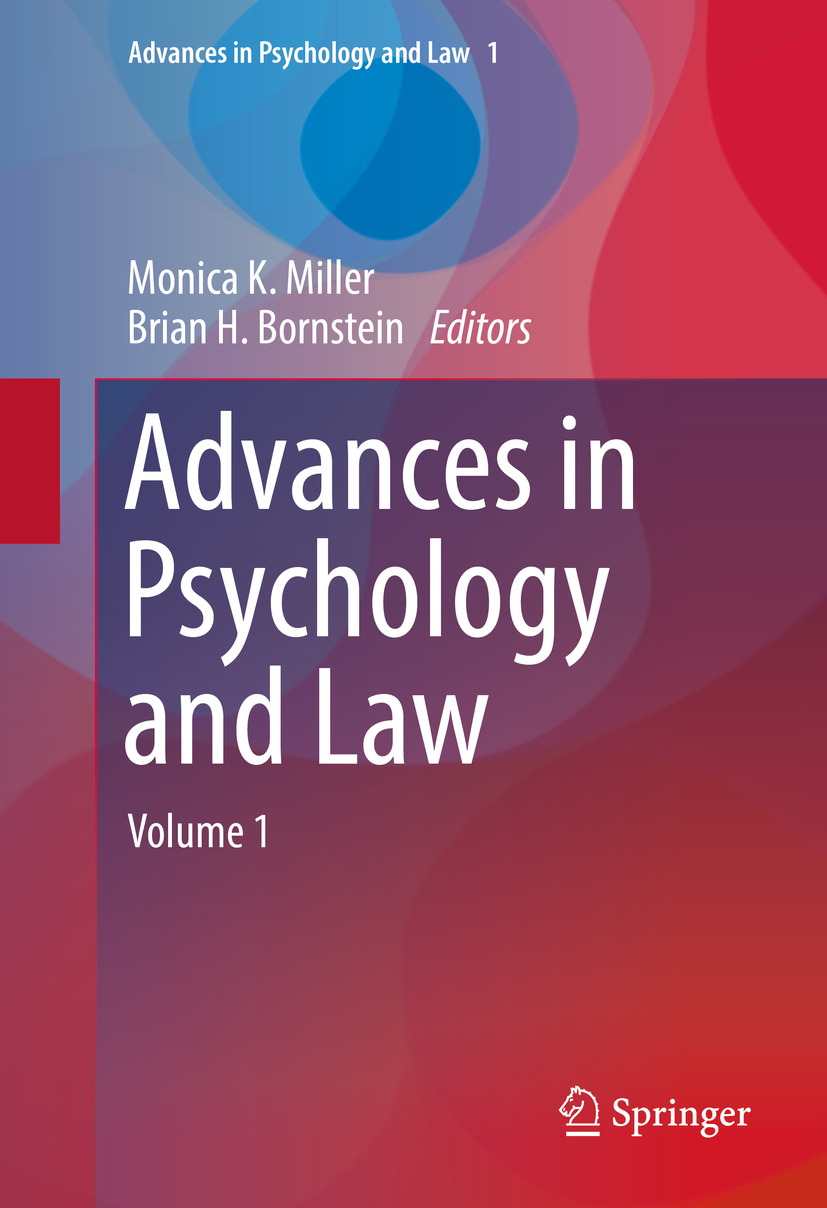 Bornstein, Brian H. - Advances in Psychology and Law, ebook
