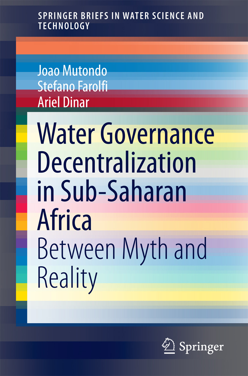 Dinar, Ariel - Water Governance Decentralization in Sub-Saharan Africa, ebook