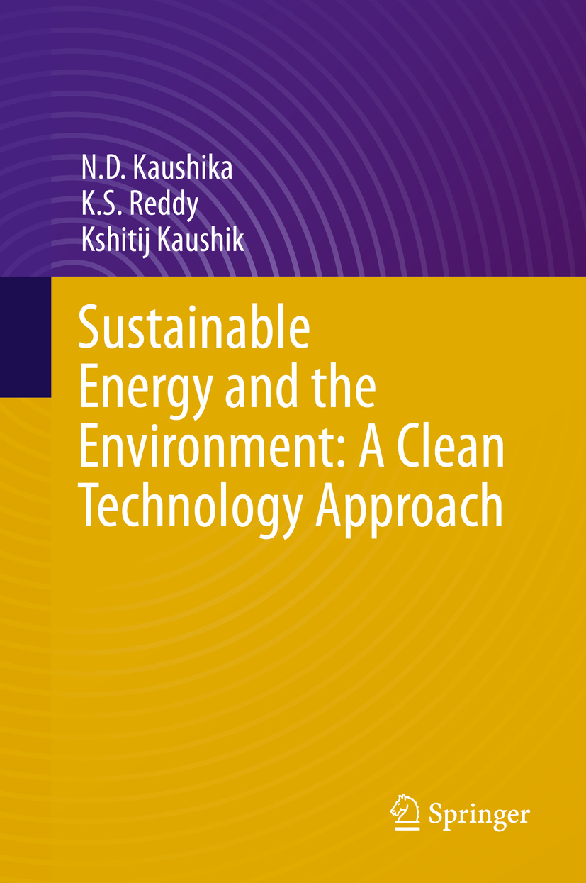 Kaushik, Kshitij - Sustainable Energy and the Environment: A Clean Technology Approach, ebook