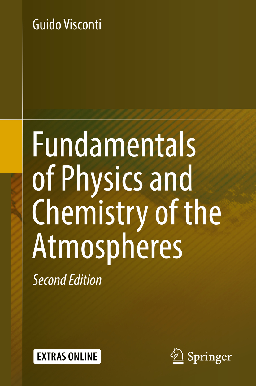 Visconti, Guido - Fundamentals of Physics and Chemistry of the Atmosphere, ebook