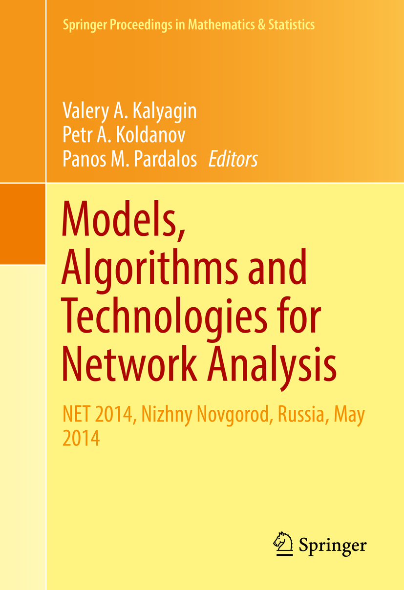 Kalyagin, Valery A. - Models, Algorithms and Technologies for Network Analysis, ebook