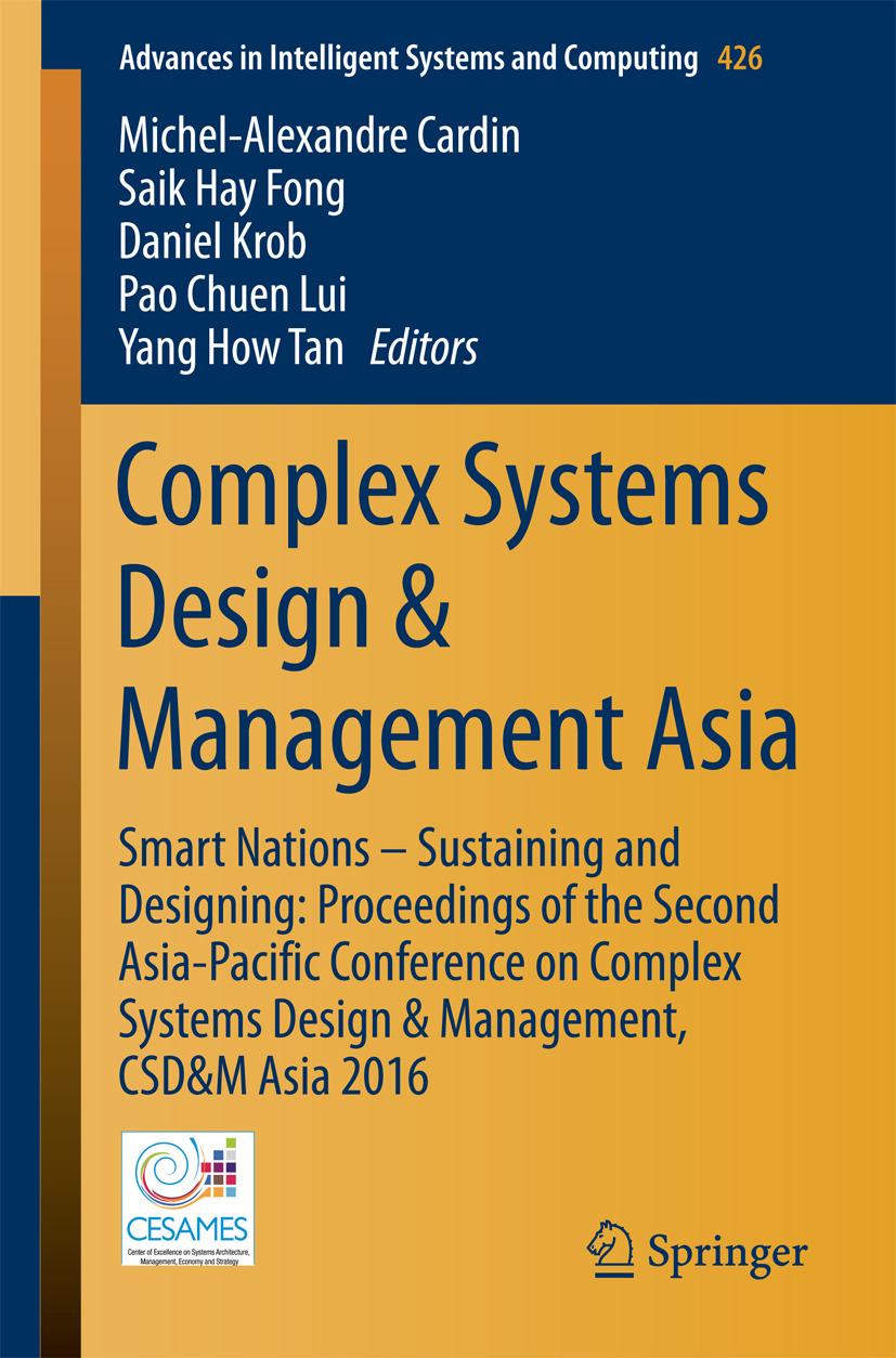 Cardin, Michel-Alexandre - Complex Systems Design & Management Asia, ebook