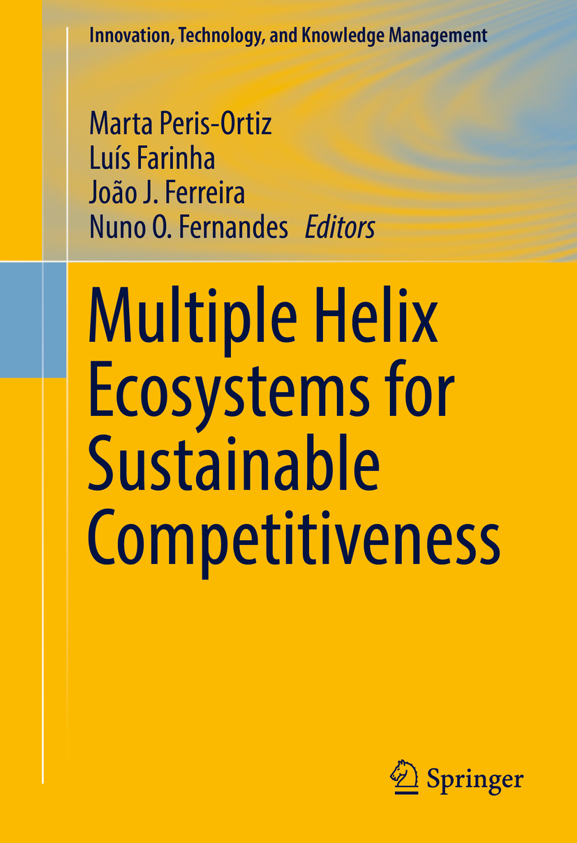 Farinha, Luís - Multiple Helix Ecosystems for Sustainable Competitiveness, ebook