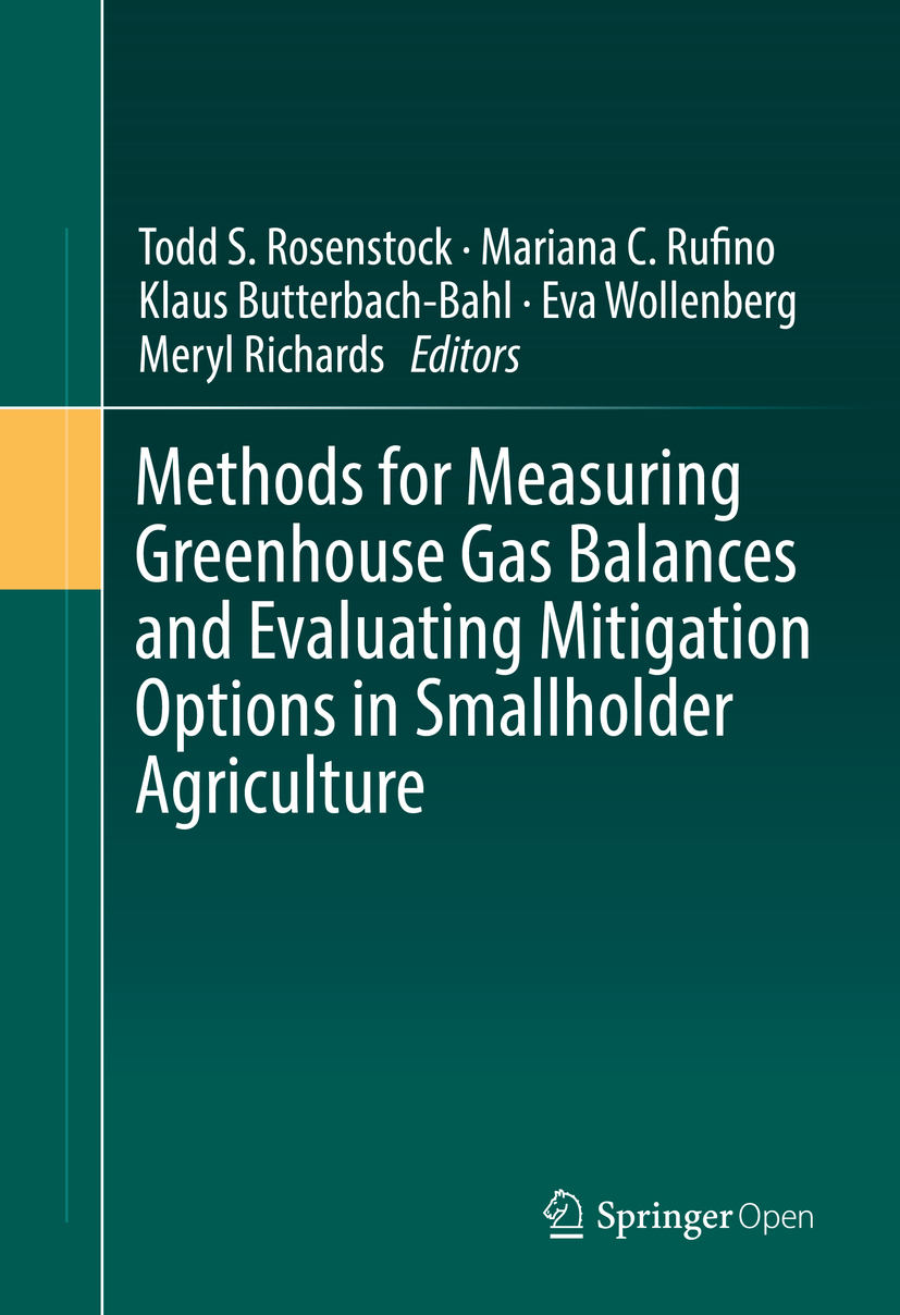 Butterbach-Bahl, Klaus - Methods for Measuring Greenhouse Gas Balances and Evaluating Mitigation Options in Smallholder Agriculture, ebook