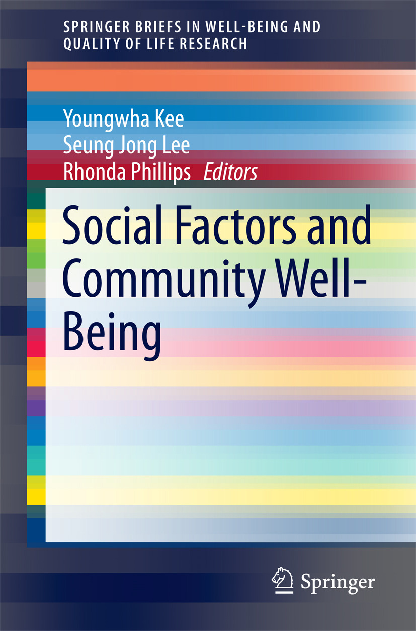 Kee, Youngwha - Social Factors and Community Well-Being, ebook