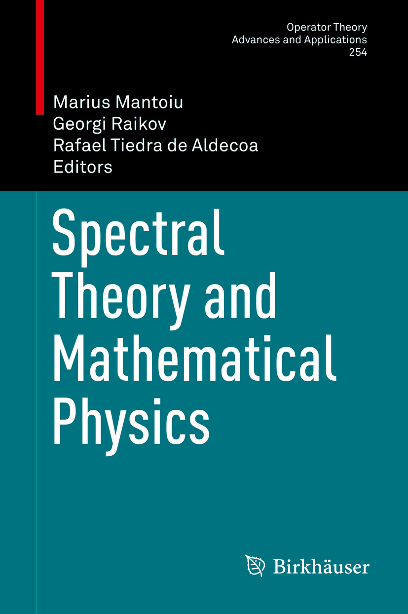 Aldecoa, Rafael Tiedra de - Spectral Theory and Mathematical Physics, ebook