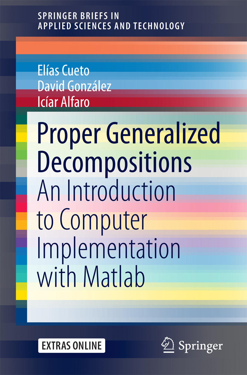 Alfaro, Icíar - Proper Generalized Decompositions, ebook