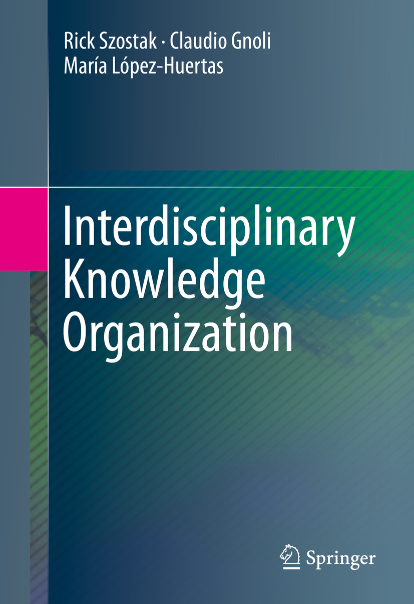 Gnoli, Claudio - Interdisciplinary Knowledge Organization, ebook