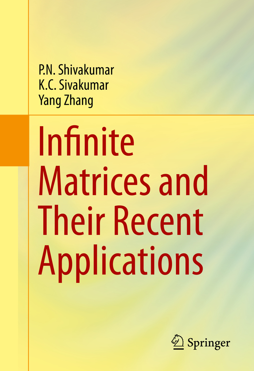 Shivakumar, P.N. - Infinite Matrices and Their Recent Applications, ebook