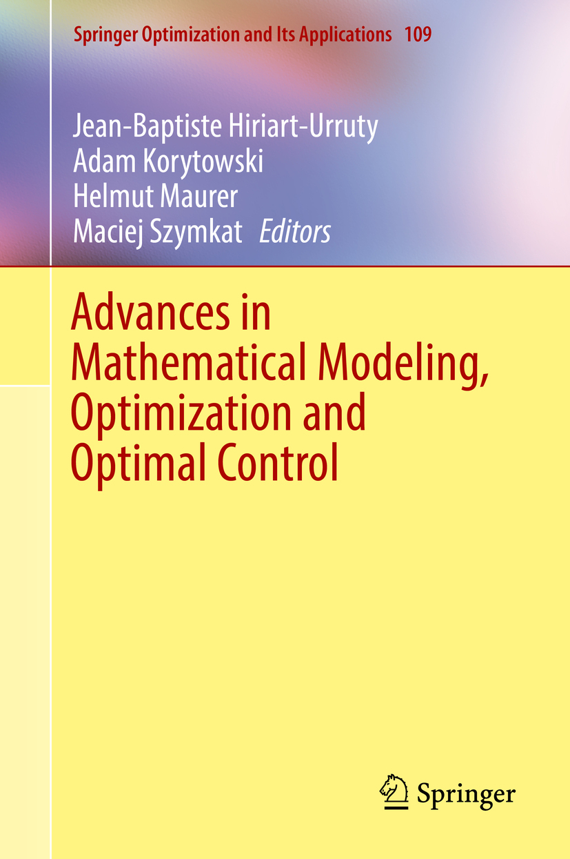 Hiriart-Urruty, Jean-Baptiste - Advances in Mathematical Modeling, Optimization and Optimal Control, ebook