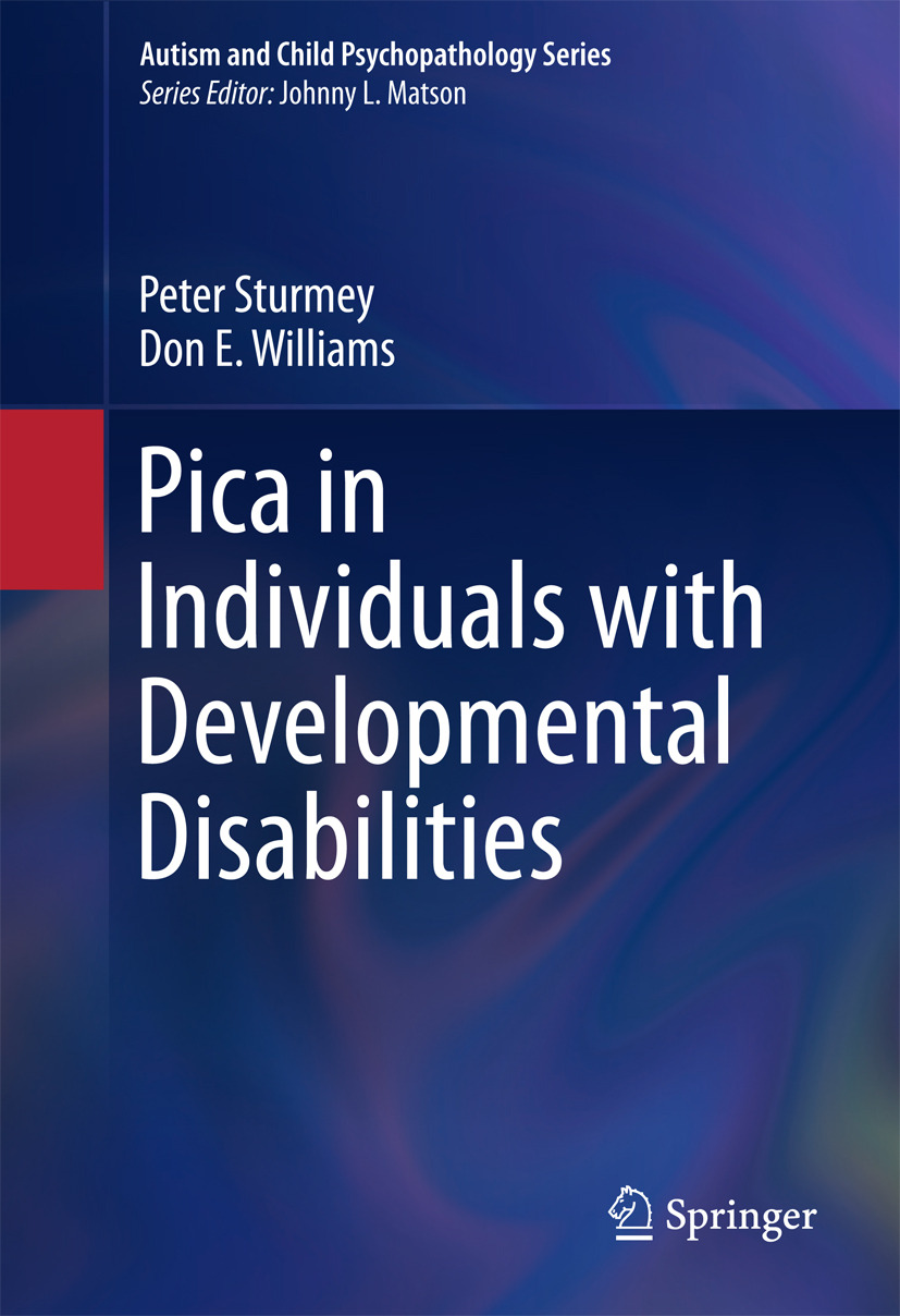 Sturmey, Peter - Pica in Individuals with Developmental Disabilities, ebook