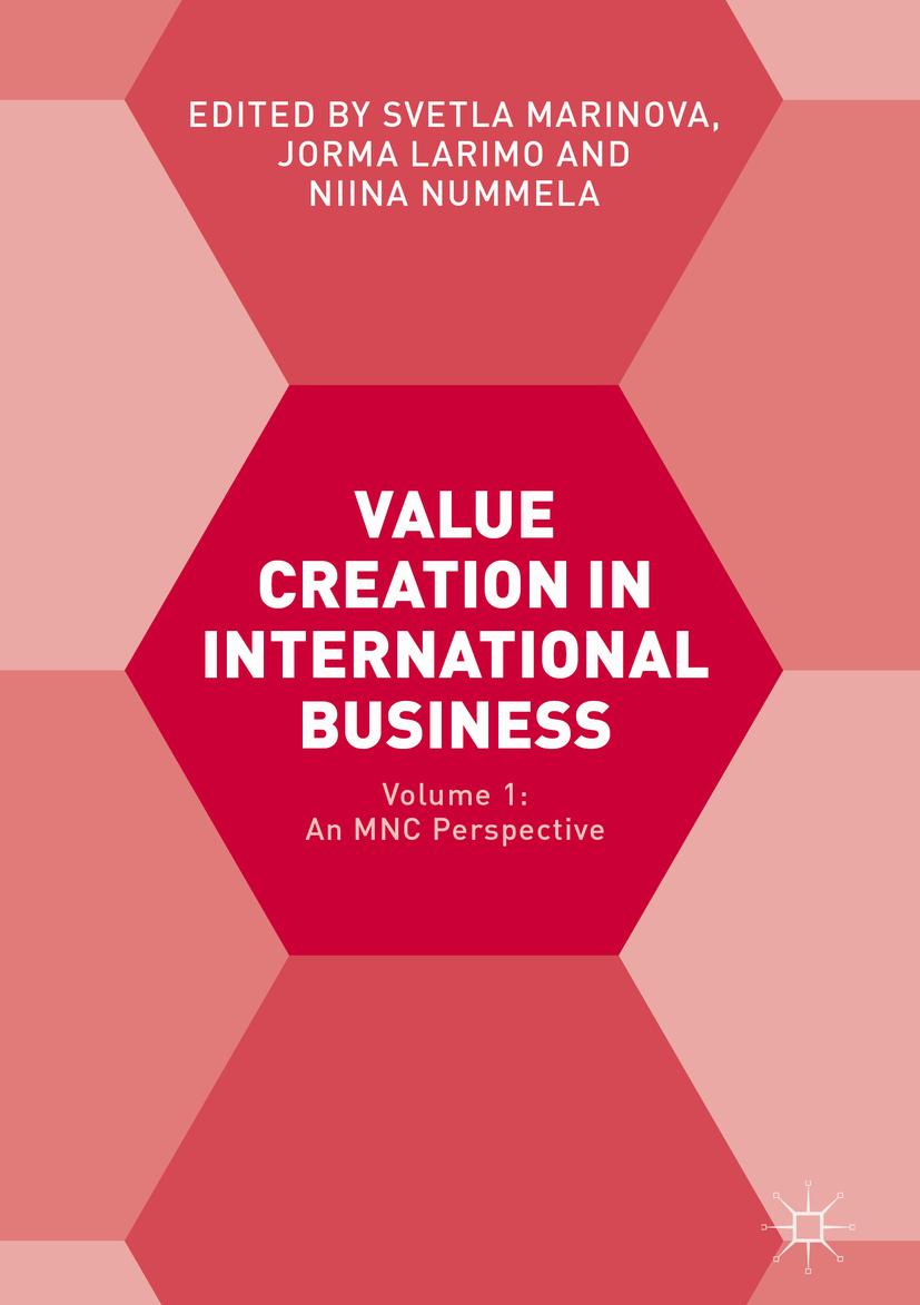 Larimo, Jorma - Value Creation in International Business, ebook
