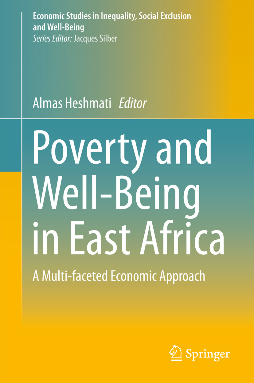 Heshmati, Almas - Poverty and Well-Being in East Africa, ebook