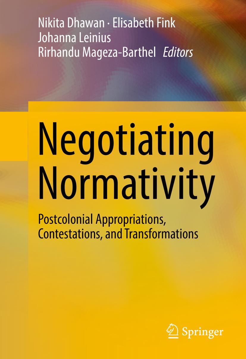 Dhawan, Nikita - Negotiating Normativity, ebook