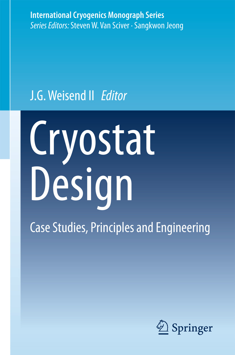 II, J.G. Weisend - Cryostat Design, ebook