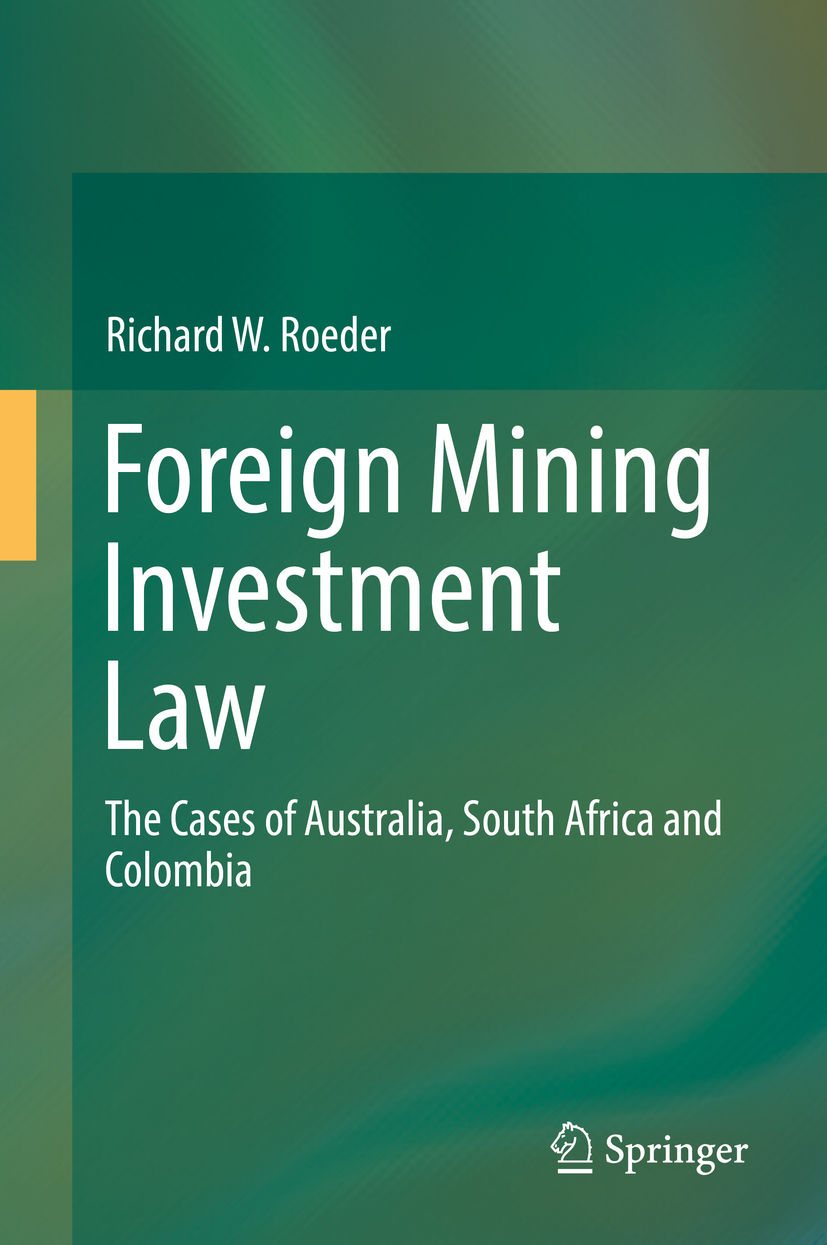 Roeder, Richard W. - Foreign Mining Investment Law, ebook