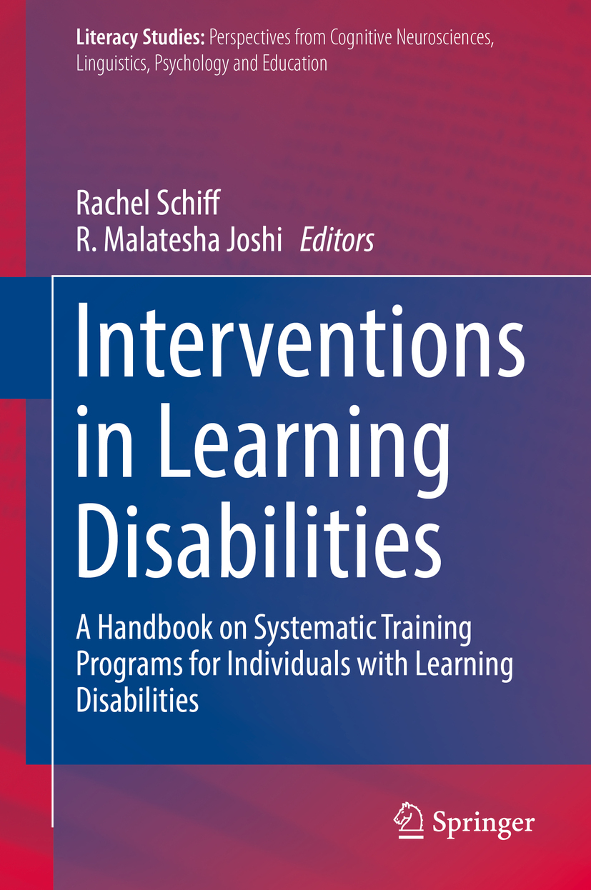 Joshi, R. Malatesha - Interventions in Learning Disabilities, ebook