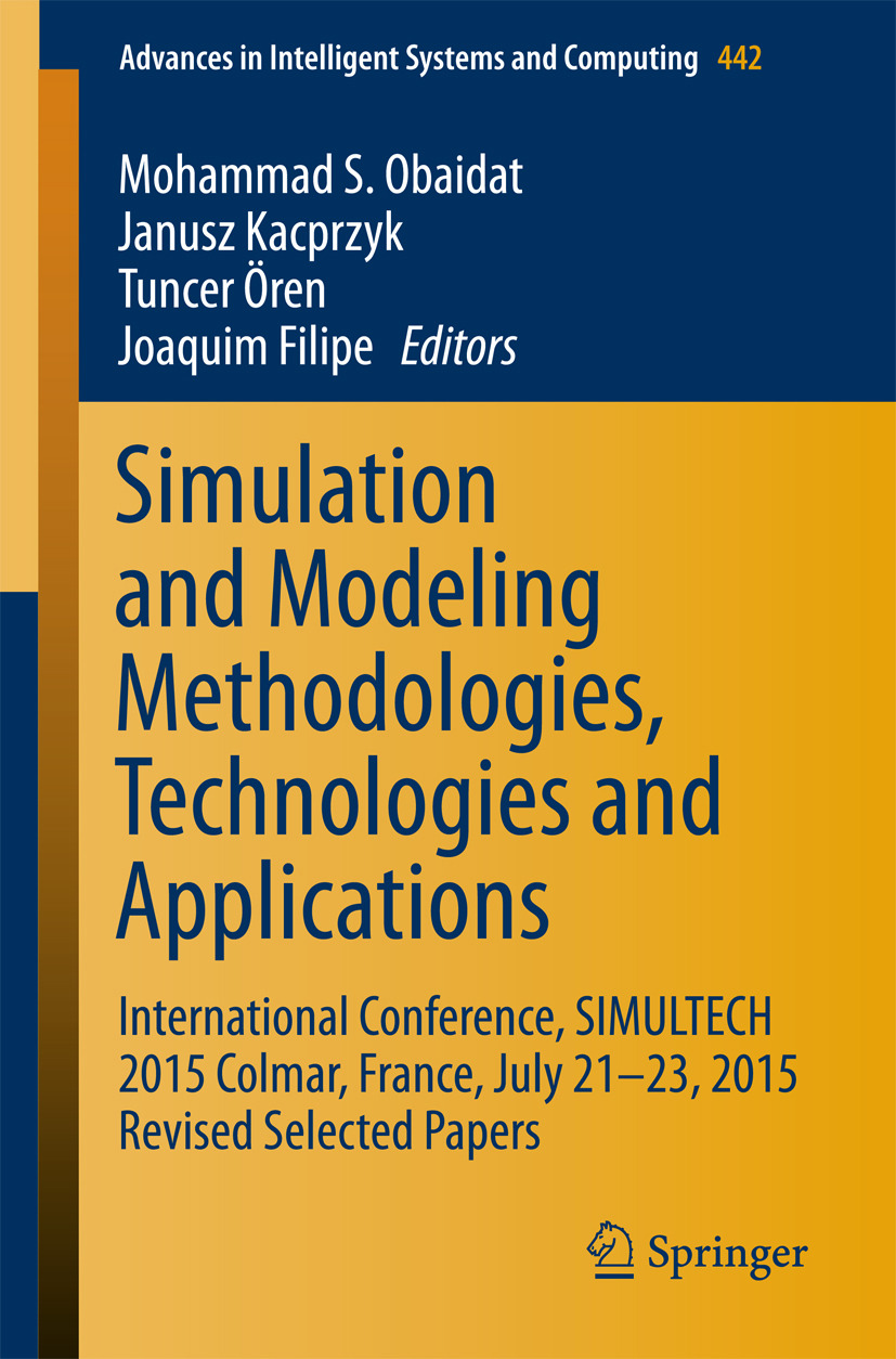 Filipe, Joaquim - Simulation and Modeling Methodologies, Technologies and Applications, ebook