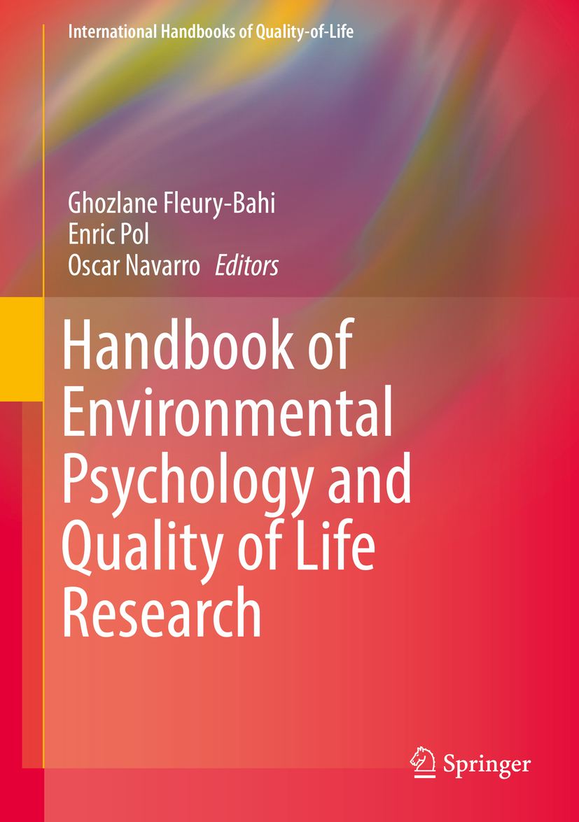 Fleury-Bahi, Ghozlane - Handbook of Environmental Psychology and Quality of Life Research, ebook